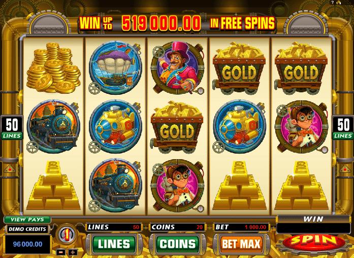 Slots gold factory