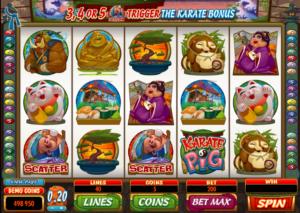 Free Slot Karate Pig Online