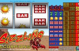 Free Sizzling Scorpions Slot Online
