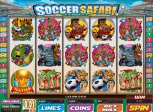Free Online Slot Soccer Safari