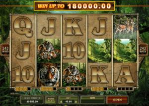 Free Online Slot Untamed Bengal Tiger