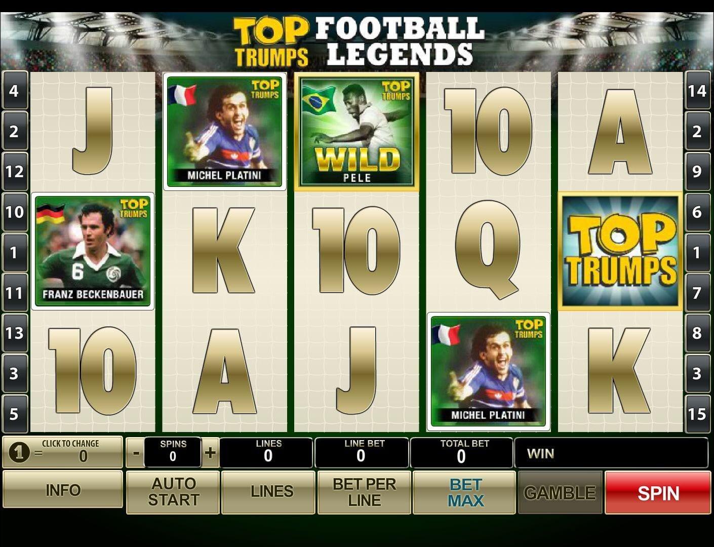 Football Legends Free Online Slot