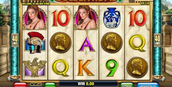 Golden Rome Free Online Slot