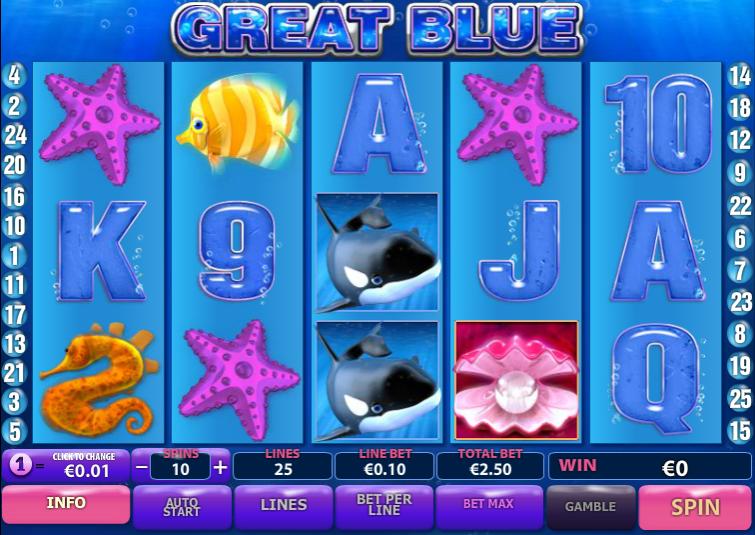 Free Slot Online Great Blue