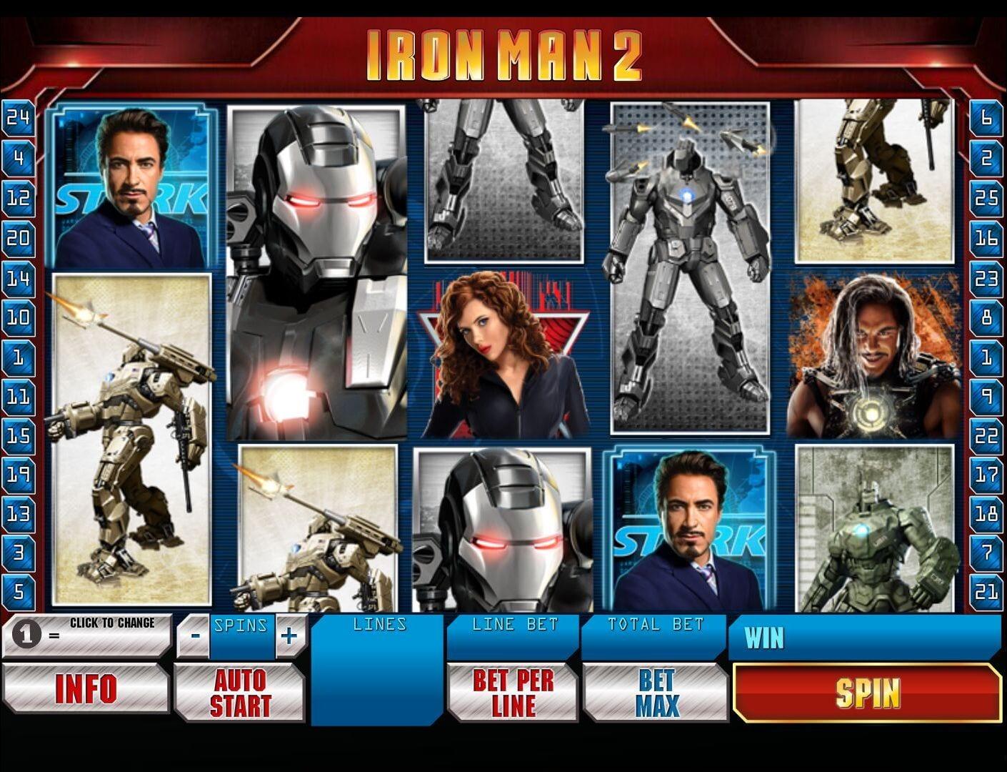 Iron Man 2 Free Online Slot