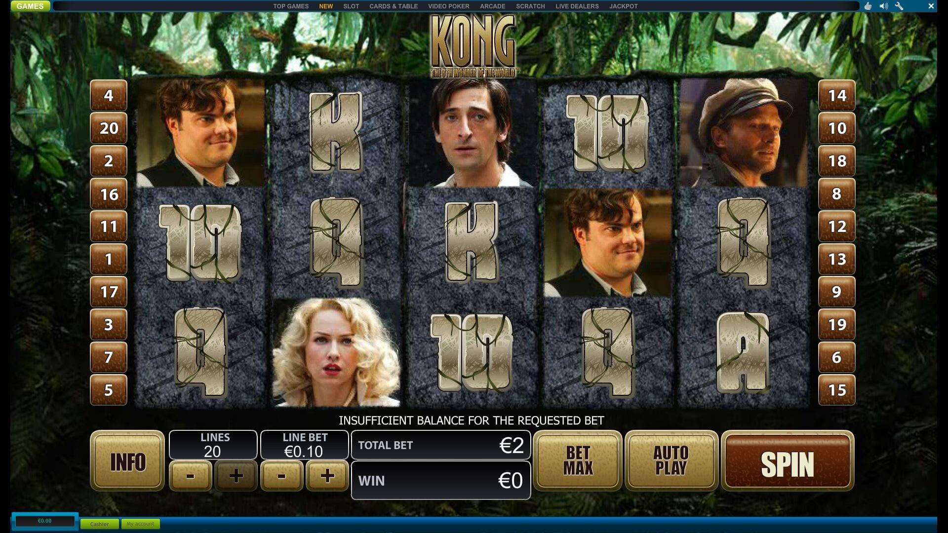 Slot Machine Kong Online Free