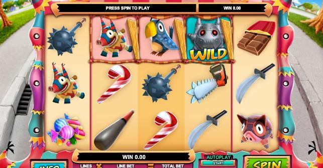 Mad Pinatas Free Online Slot
