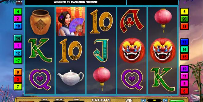 Free Mandarin Fortune Slot Online