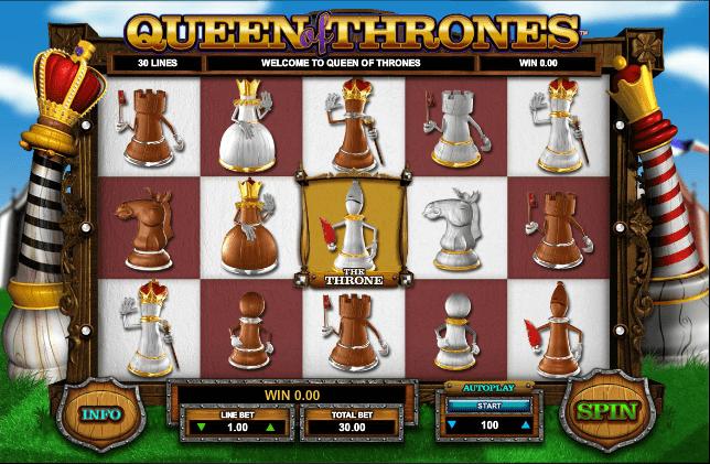 Queen of Thrones Slot Machine Online ᐈ Leander Games™ Casino Slots