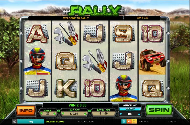Rally Free Online Slot
