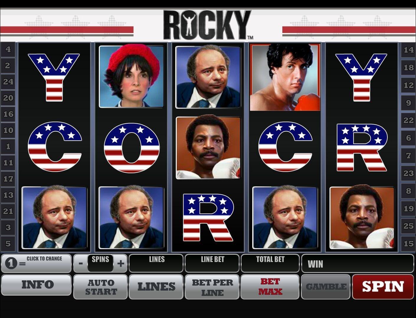 Rocky Free Online Slot