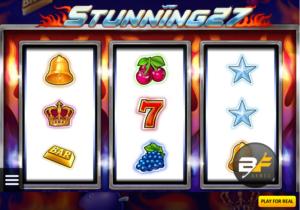 Free Stunning 27 Slot Online
