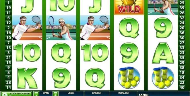 Free Tennis Stars Slot Online