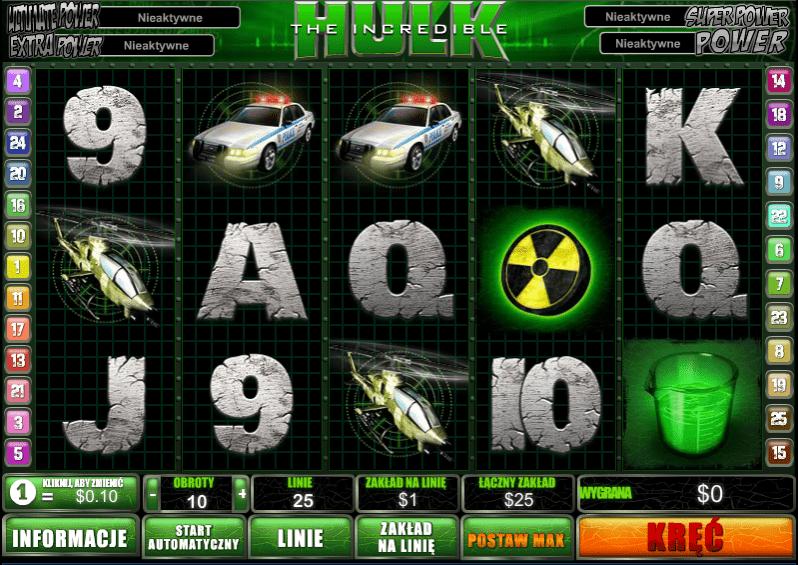 Free Slot Online The Incredible Hulk