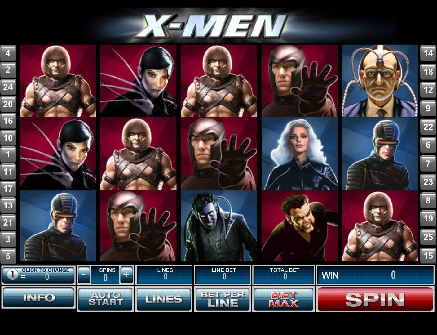 X-Men Free Online Slot
