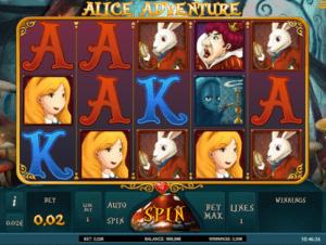 Automat Alice Adventure Online Zdarma