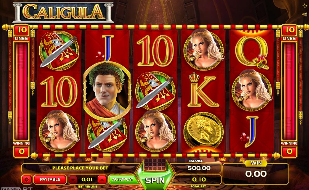 Free Slot Online Caligula