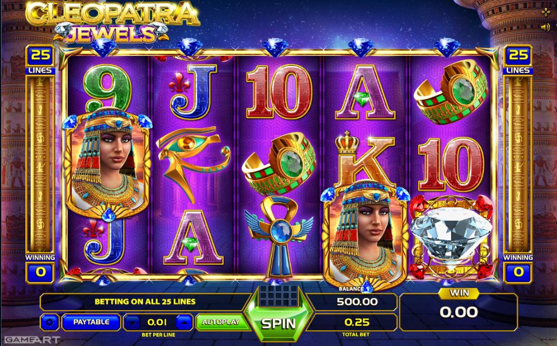 Free online slot machines cleopatra