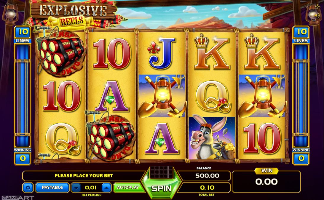 Free Explosive Reels Slot Online