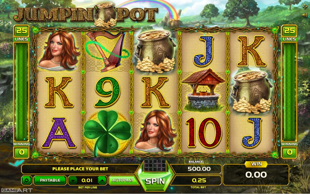 Jumpin Pot Free Online Slot