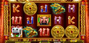 Slot Machine King of Wealth Online Free