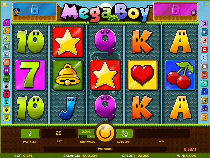 Free Slot Online Mega Boy