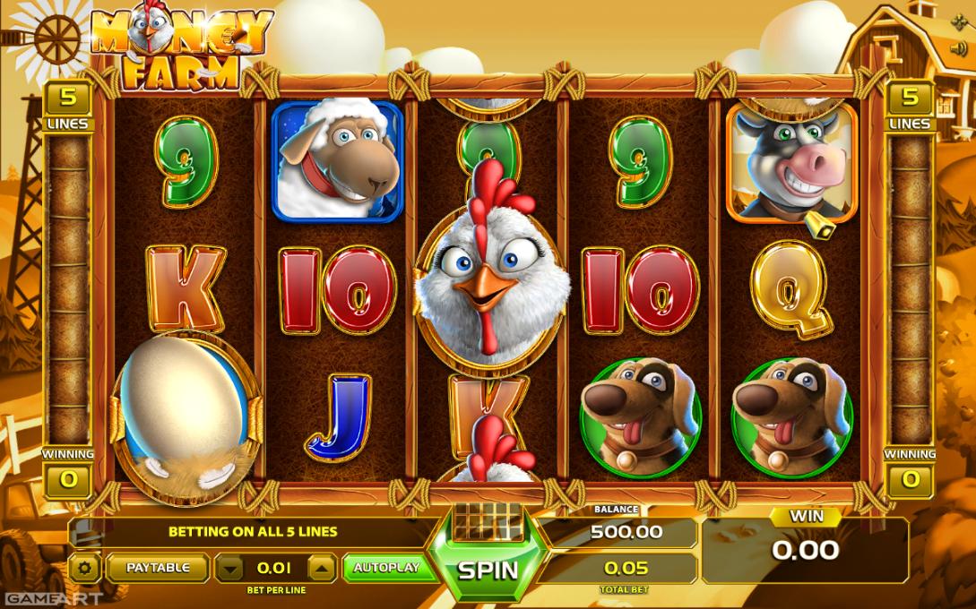 Free Money Farm Slot Online
