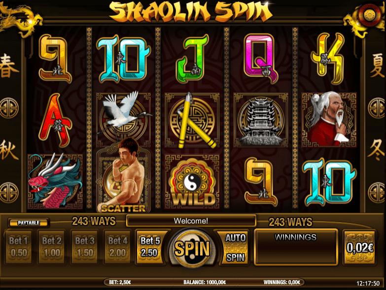 Free Slot Online Shaolin Spin