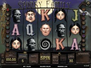 Spooky Family Free Online Slot