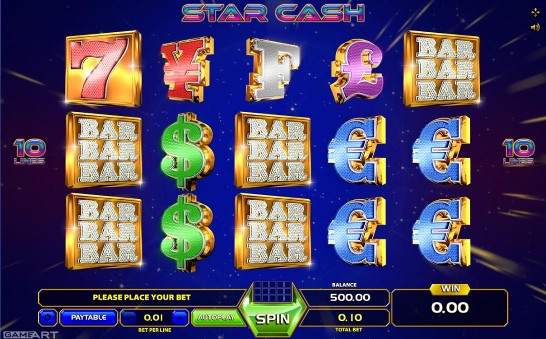 Slot Machine Star Cash Online Free