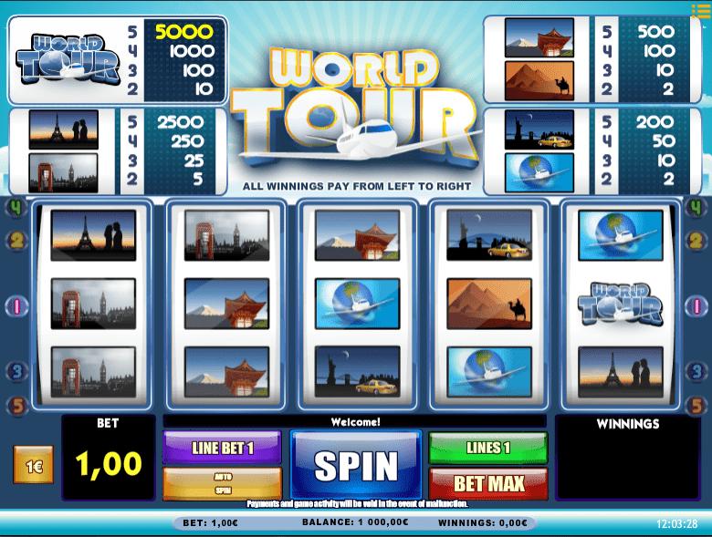 Slot Machine World Tour Online Free