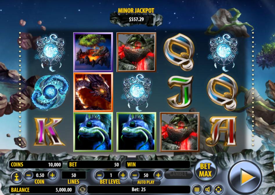 Arcane Elements Free Online Slot