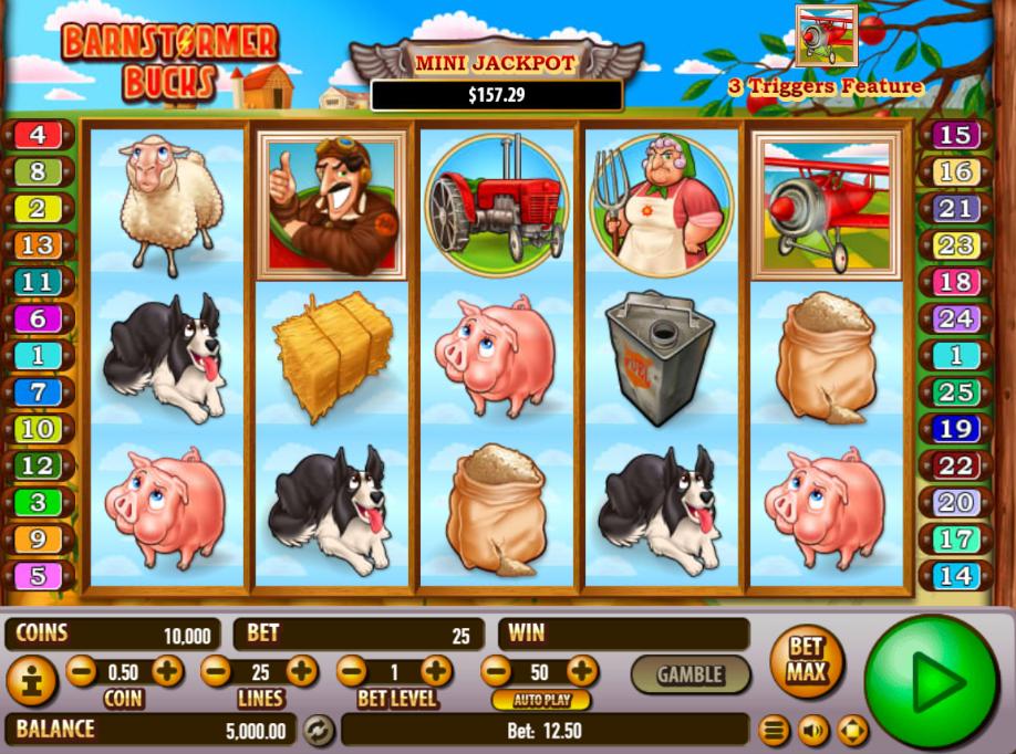 Slot Machine Barnstormer Bucks Online Free