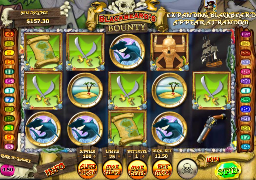 Blackbeards Bounty Free Online Slot