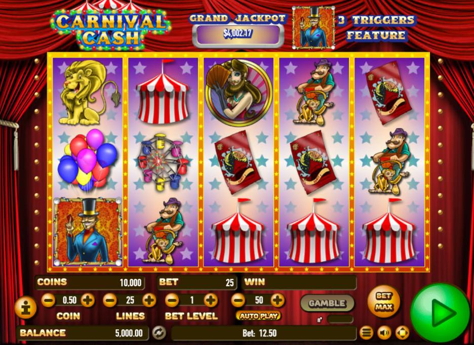 Free Slot Online Carnival Cash