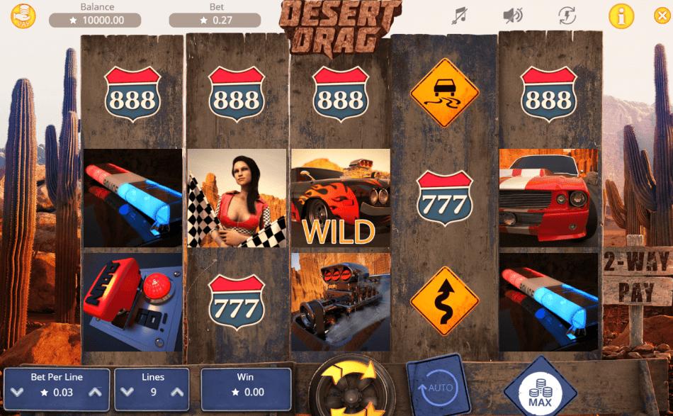 Desert Drag Slot - Available Online for Free or Real