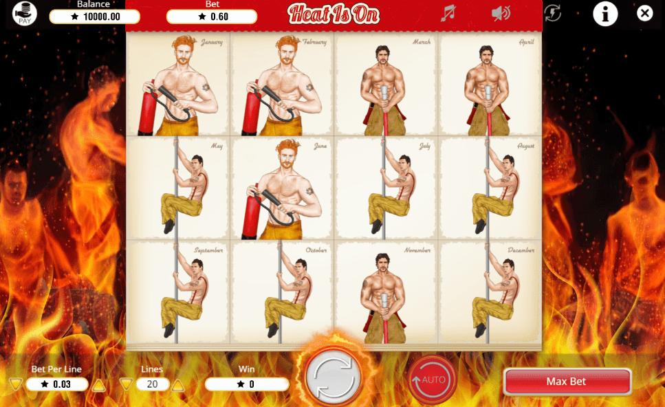 Heat is On Free Online Slot