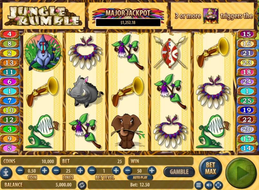 Free Jungle Rumble Slot Online