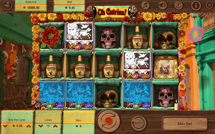 Slot Machine Oh Catrina! Online Free