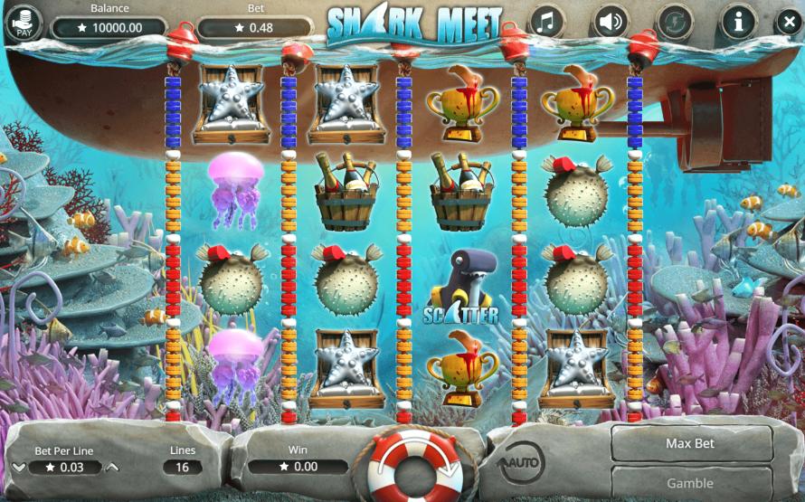Slot Machine Shark Meet Online Free