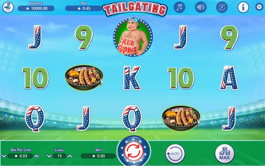Free Slot Online Tailgating