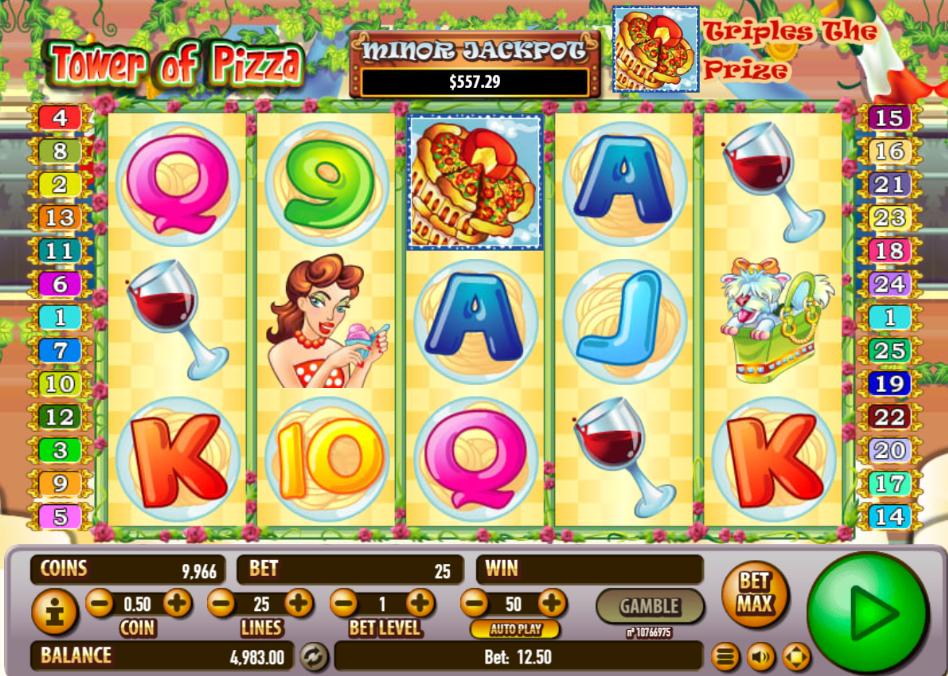 Tower Of Pizza Slot Machine Online ᐈ Habanero™ Casino Slots
