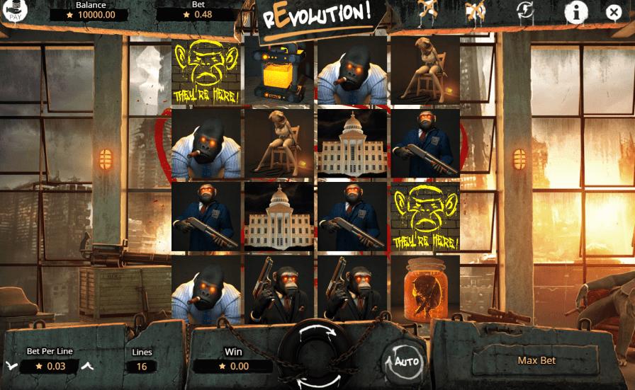 Free Revolution Slot Online