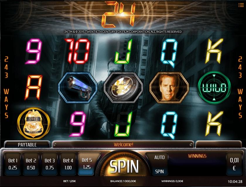 Free 24 Slot Online