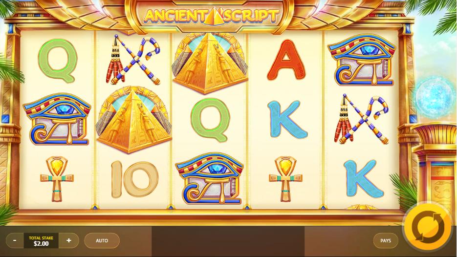 Free Ancient Script Slot Online