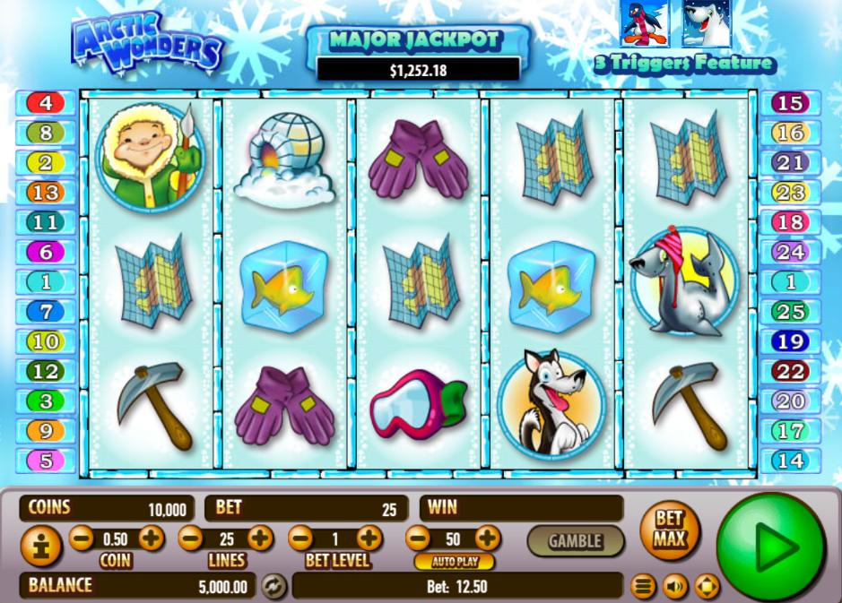 Free Slot Online Arctic Wonders
