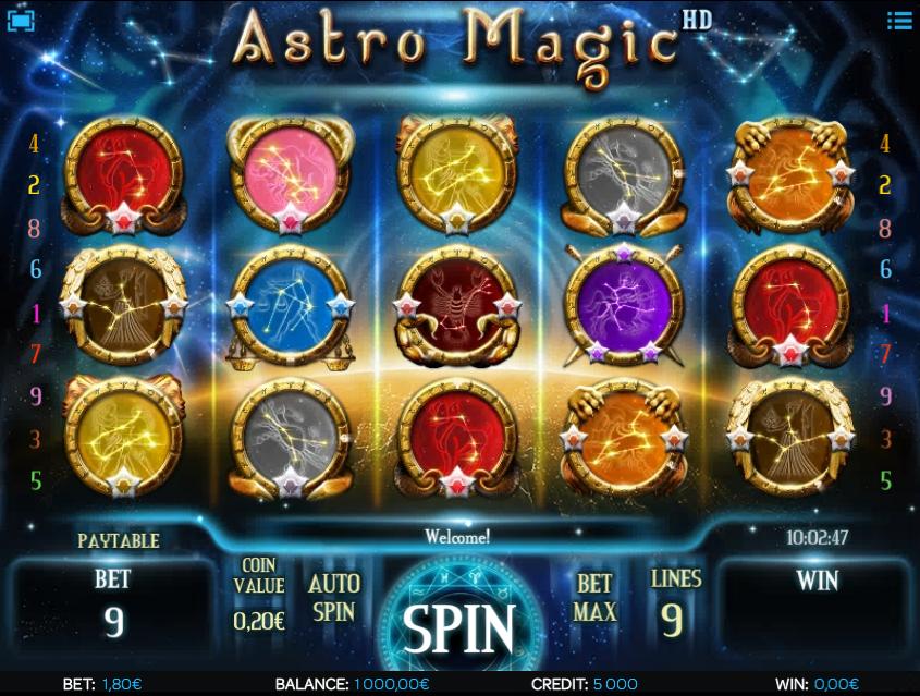 Free Slot Online Astro Magic