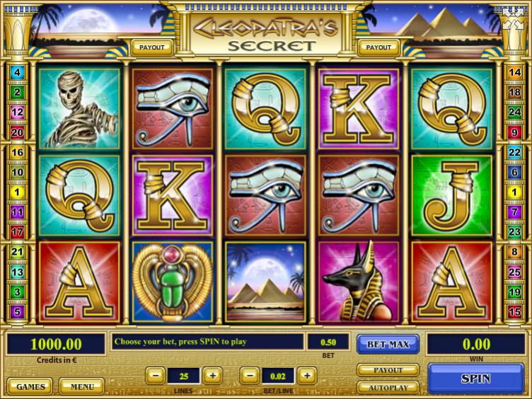 Free Cleopatras Secret TH Slot Online