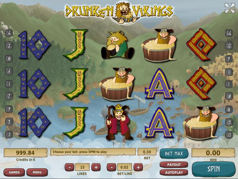 Drunken Vikings Slot - Play Online or on Mobile Now