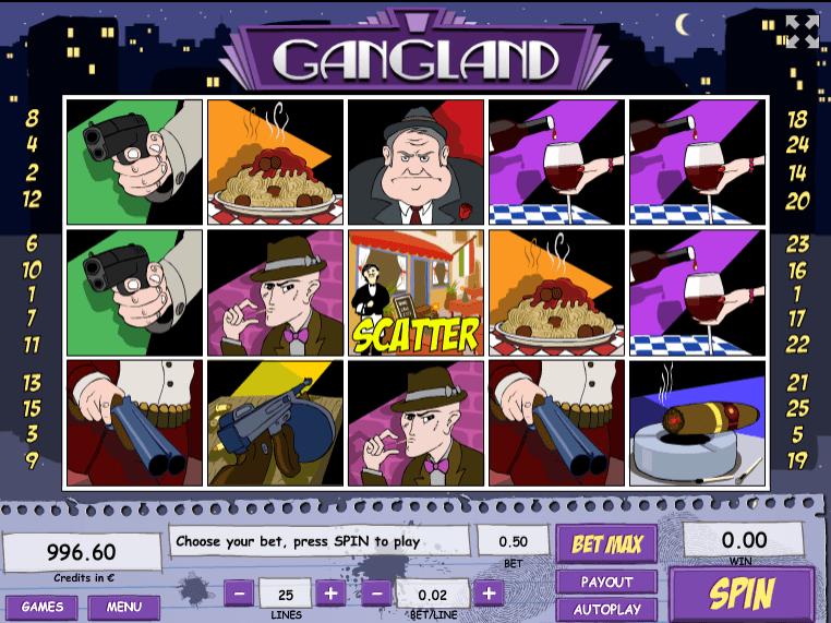 Free Slot Online Gangland